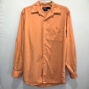 Polo by Ralph Lauren Orange/Coral Marlowe Shirt S